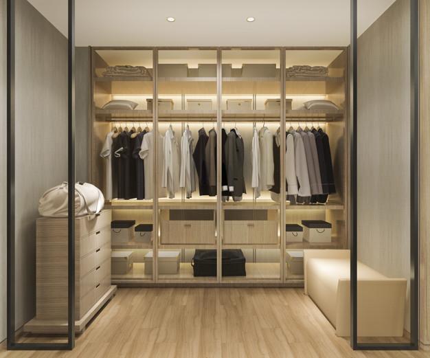 Pomysły na małą garderobę – jak ją urządzić?