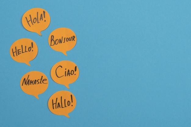 Cześć w różnych językach
